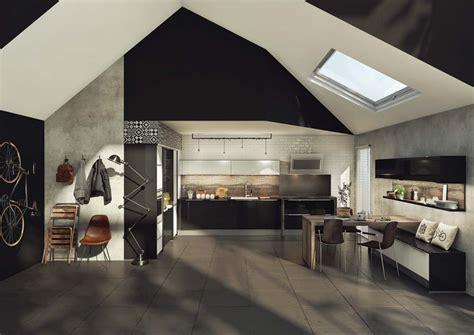 cuisine et parquet cuisine ou cuisine blanche osez le contraste