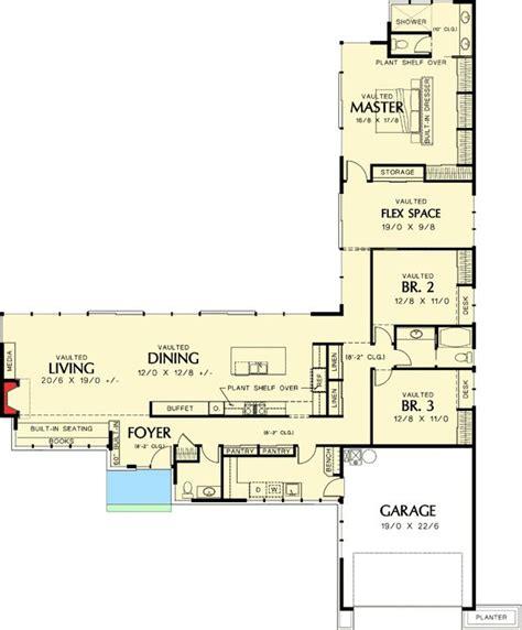 l shaped floor plans l shaped modern house plans house plans