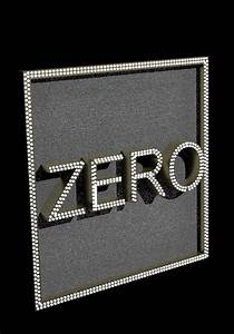Zero, Word, 3d, Model
