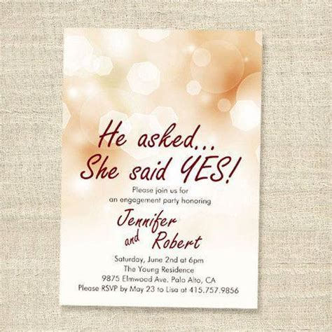 Engagement Invitation Card View Specifications & Details