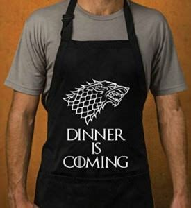 Game Of Thrones Black Dinner Is Coming Apron