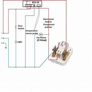 How To Replace Fridge Freezer Circuit Board With Digital Temperature Controller Fridge Freezer