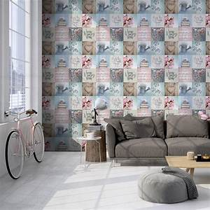 Muriva Wallpaper Lazy Days Multi 102564 WonderWall