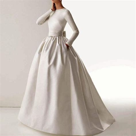 The 25 Best Boat Neck Wedding Dress Ideas On Pinterest