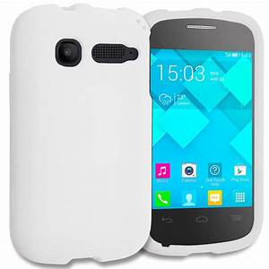 For Alcatel One Touch Pop C1 Hard Protective Case Skin Cover Matte White