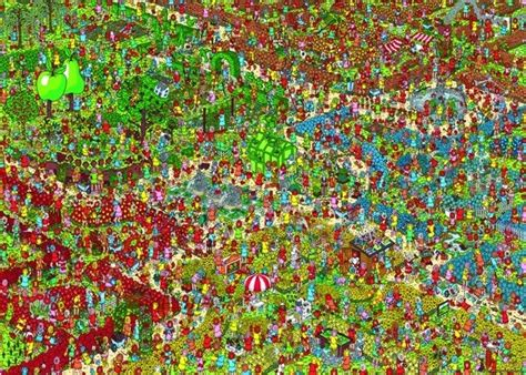 wheres wally series   piece jigsaw puzzle