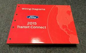 2015 Ford Transit Connect Electrical Wiring Diagrams Service Manual
