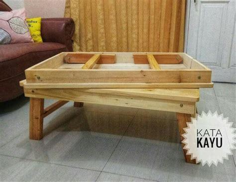 jual meja kayu lipat besar meja makan kayu lipat lesehan