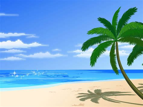 Wallpapers Vector Beach