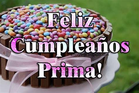 Feliz cumpleaños prima birthday quotes Pinterest