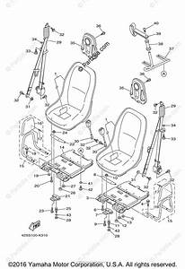 Yamaha Side By Side 2012 Oem Parts Diagram For Seat