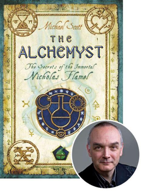 michael scotts  selling book  alchemyst