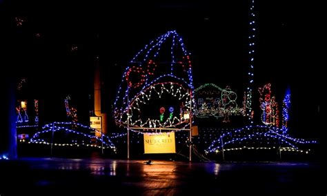 drive through holiday lights glittering lights groupon