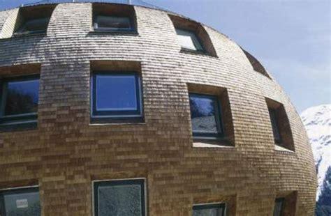Prisma Rundes Haus Schindeln Norman Foster St Moritz