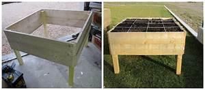 Fabriquer Un Potager Surélevé En Bois : comment fabriquer un carr de potager ~ Melissatoandfro.com Idées de Décoration