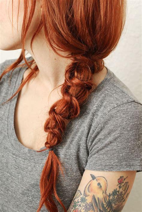style  simple knot braid  beautiful mess