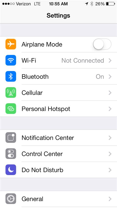 personal hotspot iphone how to use personal hotspot on ios 7