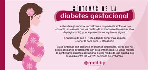 diabetes gestacional causas sintomas  diagnostico meditip