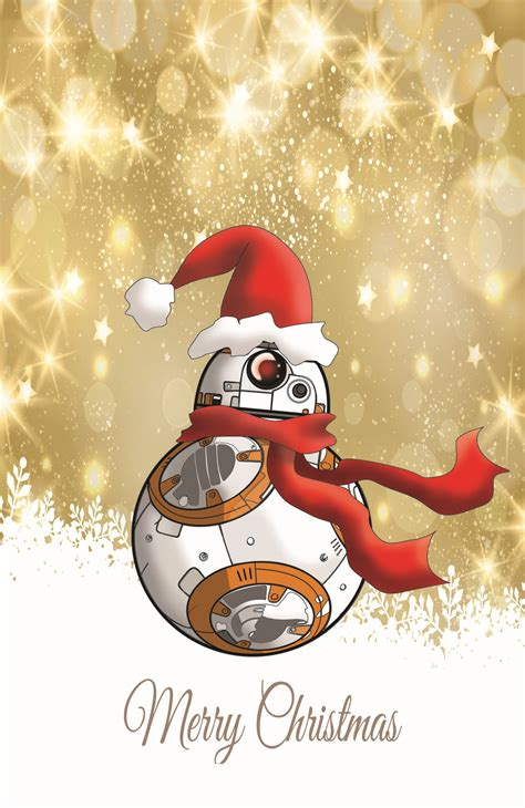 Are you looking for star wars christmas card printable? BB8 (Star Wars) Christmas Card on Storenvy