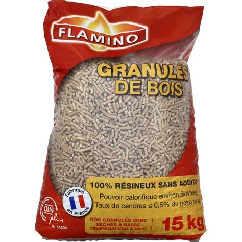 prix granules de bois granul 233 s de bois 100 r 233 sineux flamino flamino le sac de 15 kg vos courses en ligne avec