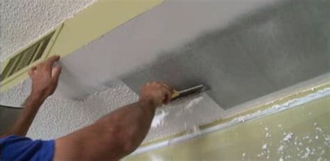 tips  diy textured popcorn ceiling removal todays