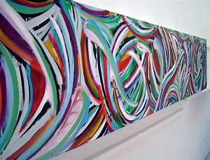 Abstract art urban drip painting in graffiti style for What kind of paint to use on kitchen cabinets for ready to hang canvas wall art