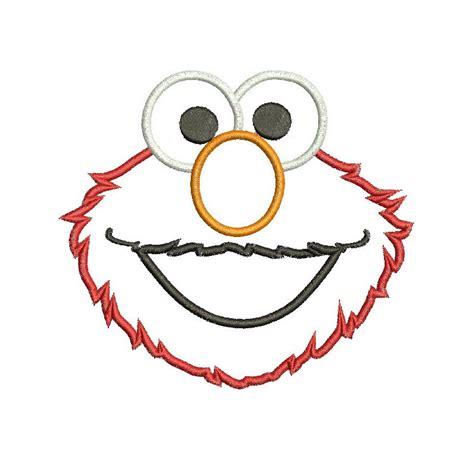 Elmo Applique by Elmo Clip Free Cliparts Co