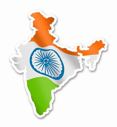 Svg Flag India Map Clipart Transparent Wikimedia