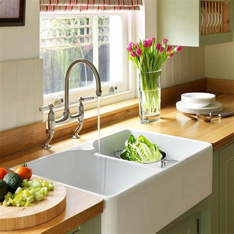 green kitchen sinks sink area step inside this traditional muted green 1434