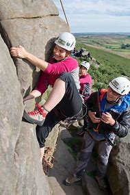 Woman Rock Climbing Pictures