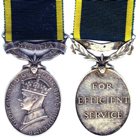 efficiency medal wikipedia