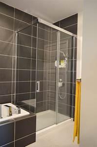 Baignoire A Porte Lapeyre : baignoire douche porte great paroi de douche surmesure ~ Premium-room.com Idées de Décoration