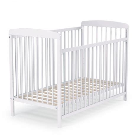 chambre de bébé aubert lit barreaux blanc barriere coulissante at4