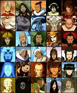Atla♥ all this characters are epic :D | Avatar: the Last ...