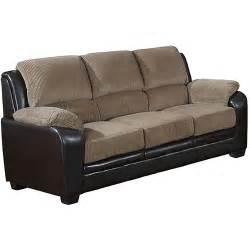 barton corduroy sofa multiple colors walmart com