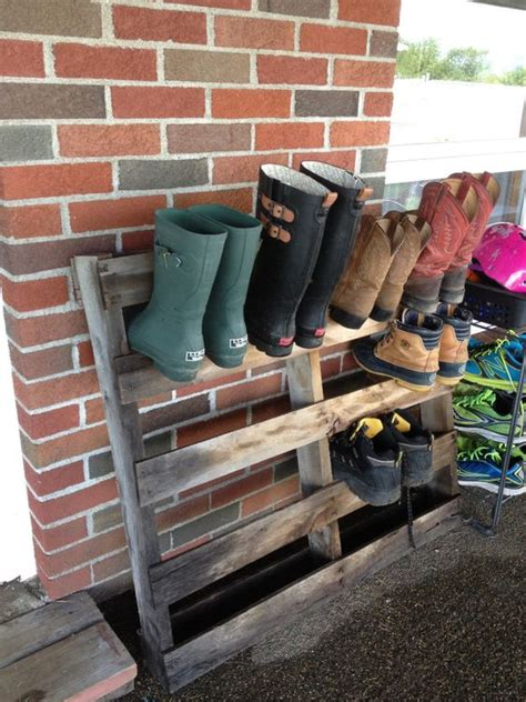Pallet Boot Storage  Boots, House And Storage