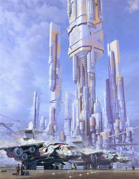 Dsngs Sci Fi Megaverse Sci Fi Buildings And Futuristic