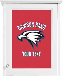 dawson eagles band logo cabinet decal custom size With kitchen colors with white cabinets with company logo stickers
