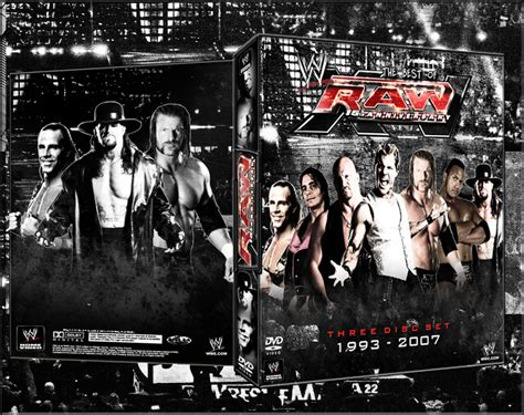 Wwe Raw Xv Dvd Cover By Ausixfox On Deviantart