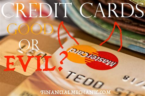 It also has no annual fee. Credit cards good or evil | Evil, Credit card, Cards