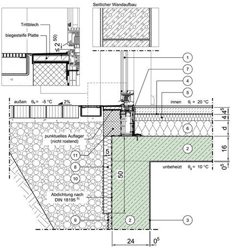 Bodentiefes Fenster Detail by Detailseite Planungsatlas Hochbau Einschalige