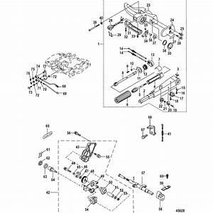 Genuine Mercury  U0026 Mercruiser Parts  Tiller Handle