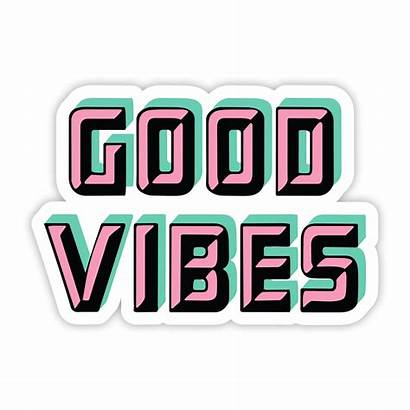 Vibes Pastel Sticker Stickers Cool