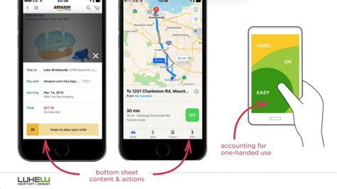 basic patterns  mobile navigation pros  cons