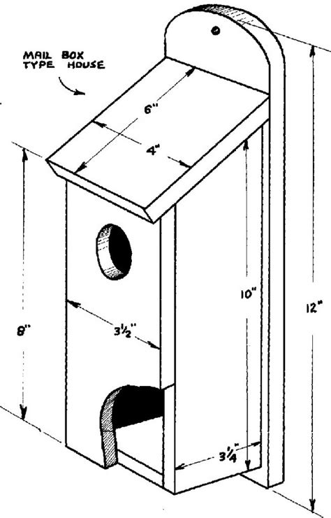 house sparrow bird box plans