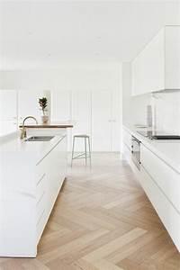Sol Pas Cher Pour Salon : d co salon cuisine sol en parquet clair pas cher ~ Premium-room.com Idées de Décoration