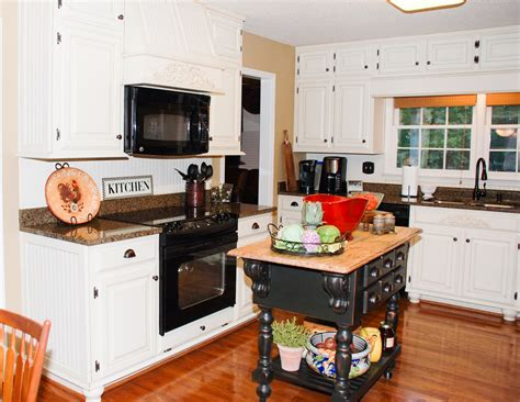Remodelaholic  From Oak Kitchen Cabinets To Painted White