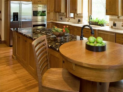 kitchen island with built in table kitchen island breakfast bar pictures ideas from hgtv