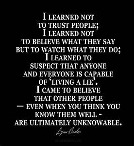 Quotes About Trusting People | www.pixshark.com - Images ...