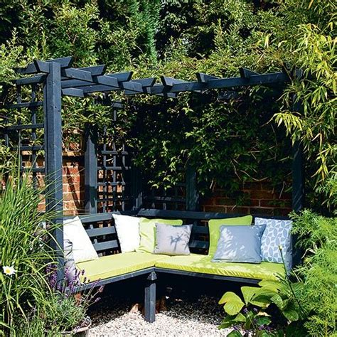 25 best ideas about garden seating areas on